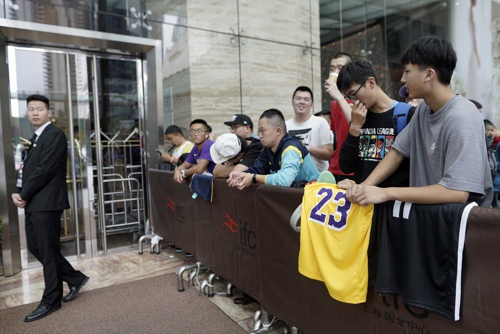 Amid rift with China, will the NBA be forced to apologize?