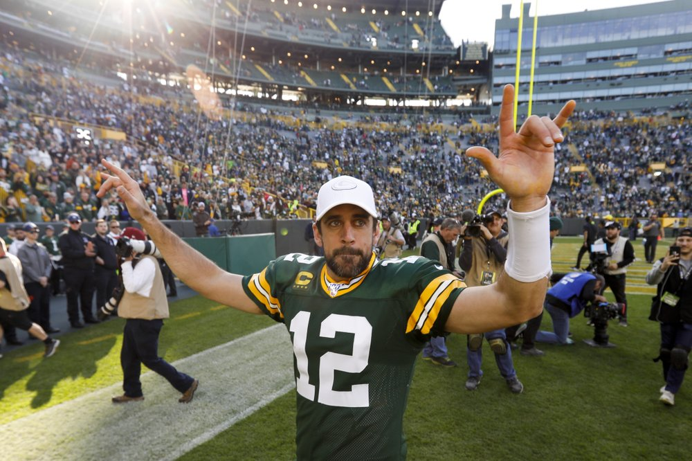 Aaron Rodgers for MVP?