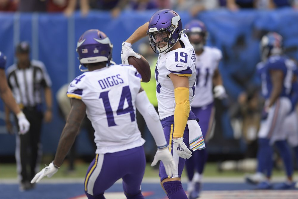 Washington faces short week before visiting Cousins' Vikings