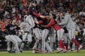 Washington Nationals World Series win AP