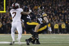 Minnesota Iowa football Chris Autman-Bell AP