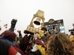 Minnesota football Gophers celebrate AP