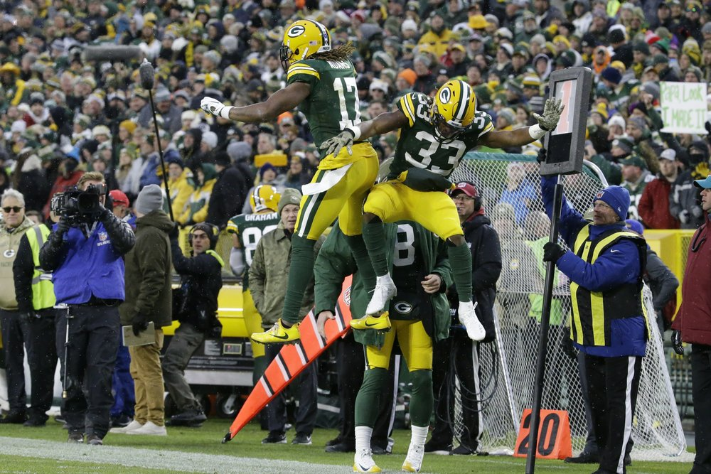NFL moves Green Bay-San Francisco into prime time on Nov. 24