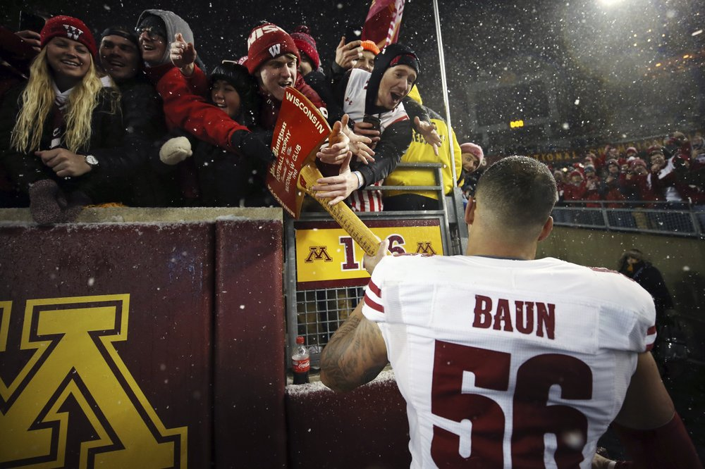 No. 10 Wisconsin used bye to rally to Big 10 title game