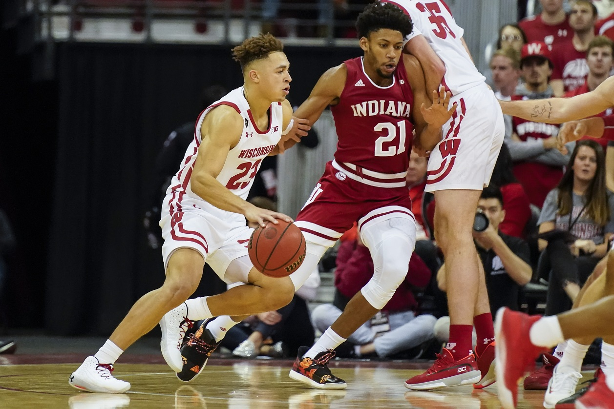 Wisconsin's Kobe King averaging 10.6 points heading into matchup against Nebraska