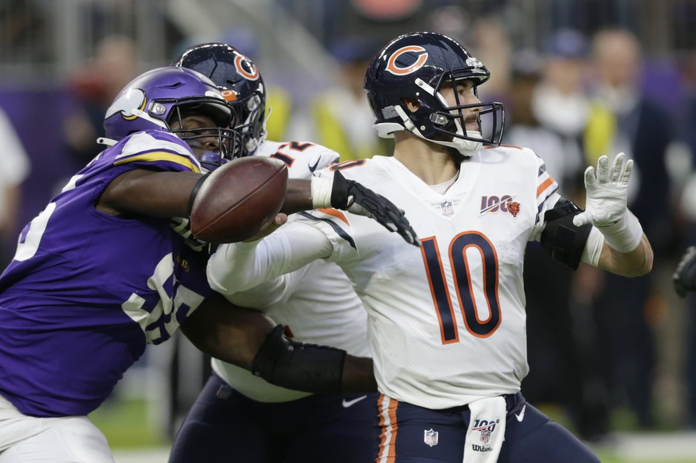 Bears edge Vikings 21-19 on Piñeiro FG with 10 seconds left