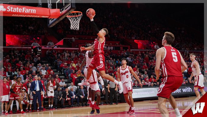 La Crosse's King scores 18 but Badgers lose to Rutgers