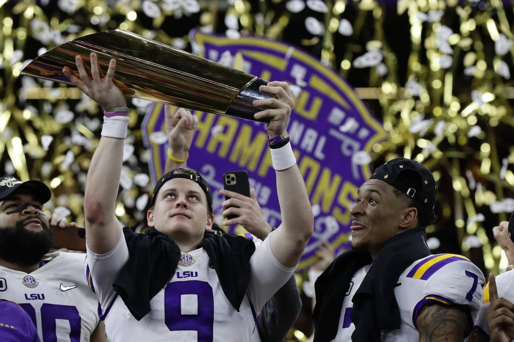 Column: LSU makes a persuasive case as the best team ever