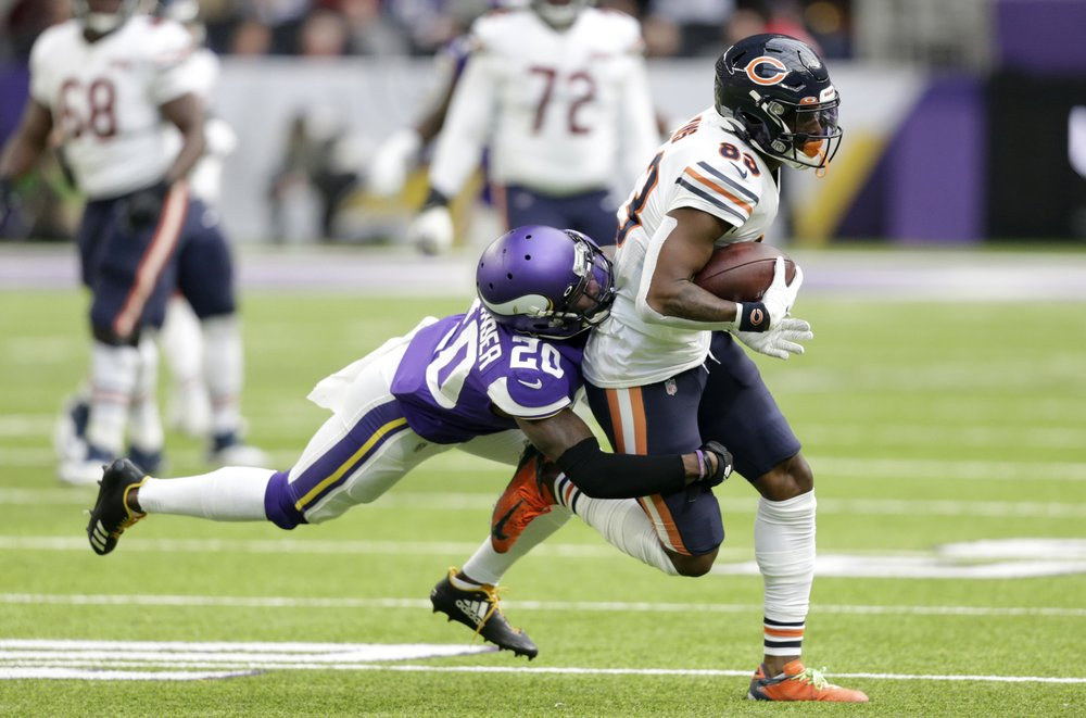 Vikings must face Saints without CBs Alexander, Hughes