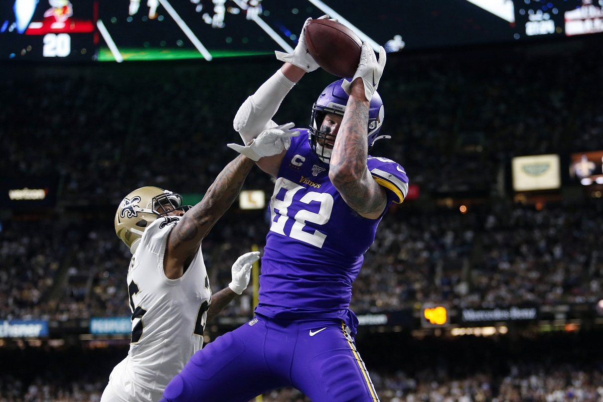 Cousins, Vikings upend Saints 26-20 in OT in NFC playoffs