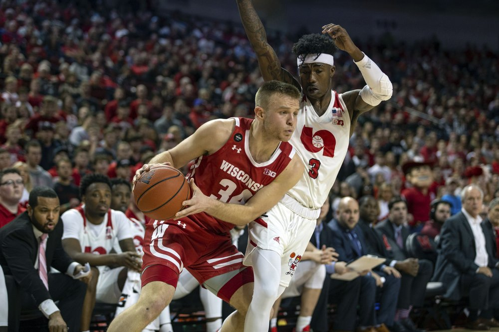 Davison, Badgers send Huskers to 10th straight loss 81-64