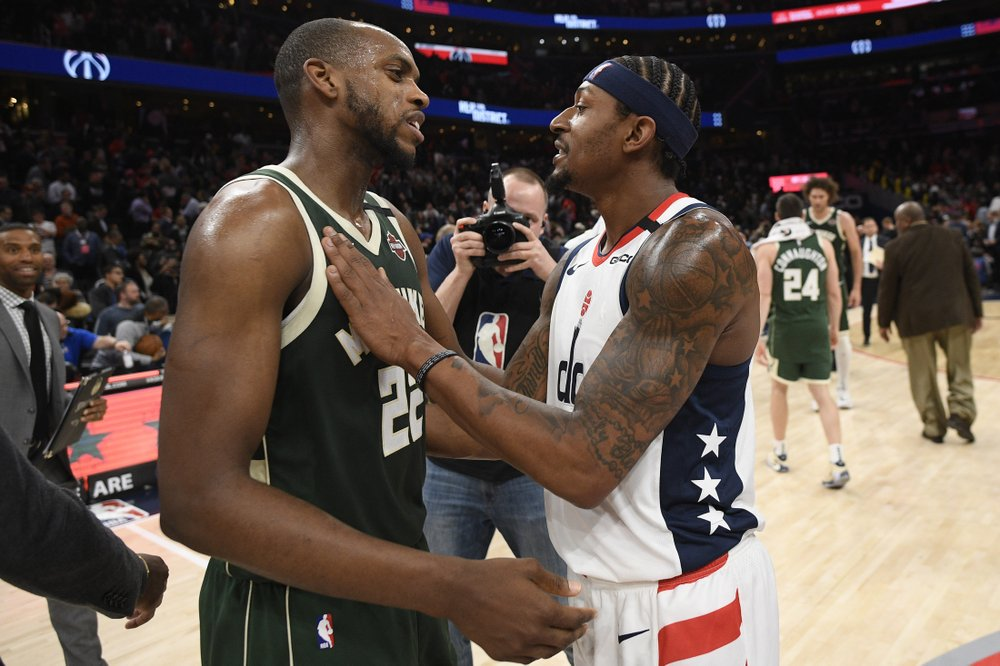 Bucks survive trap and Beal's 55 points as they head to Toronto for 2nd of back-to-back