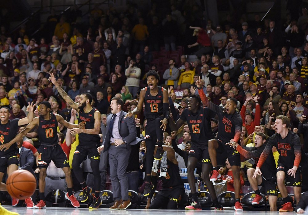 Gophers blow it for Badgers, as Maryland makes huge comeback