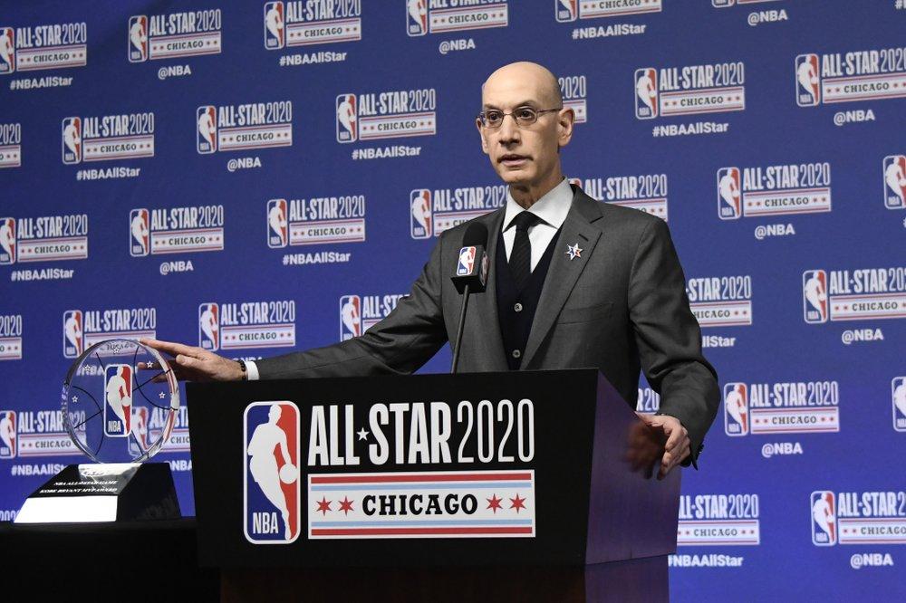 In staff memo, NBA's Adam Silver addresses racial tensions