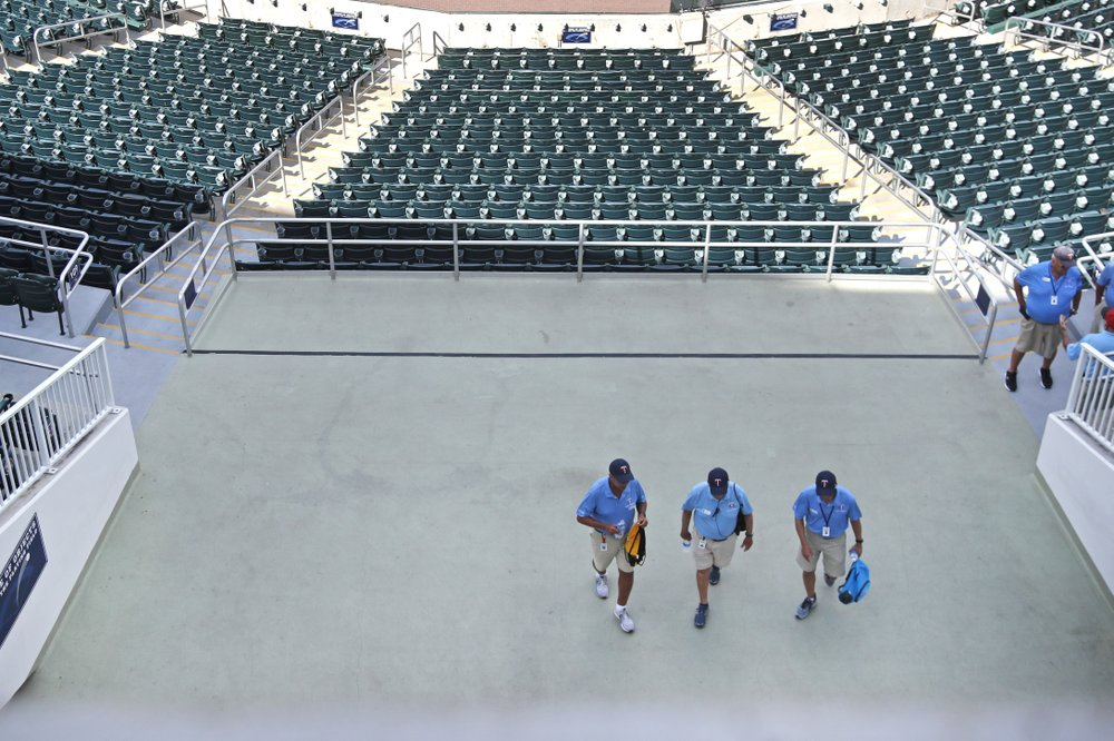 No fans, no work: Arena workers caught in sports shutdown