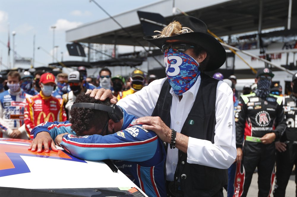 Column: NASCAR rolls on, through crisis and controversy
