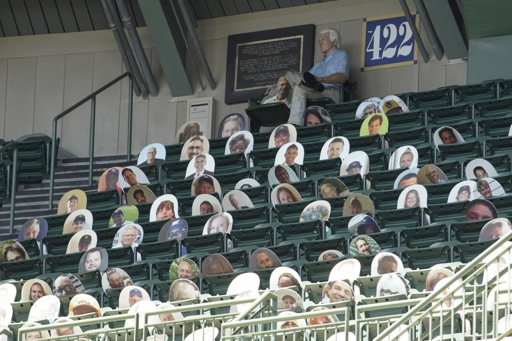 Faces in the crowd: Cutouts provide virtual MLB audience