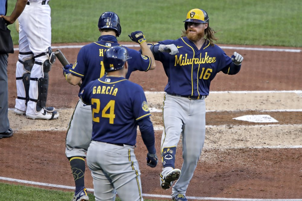 Woodruff dominates as Brewers silence punchless Pirates 3-0