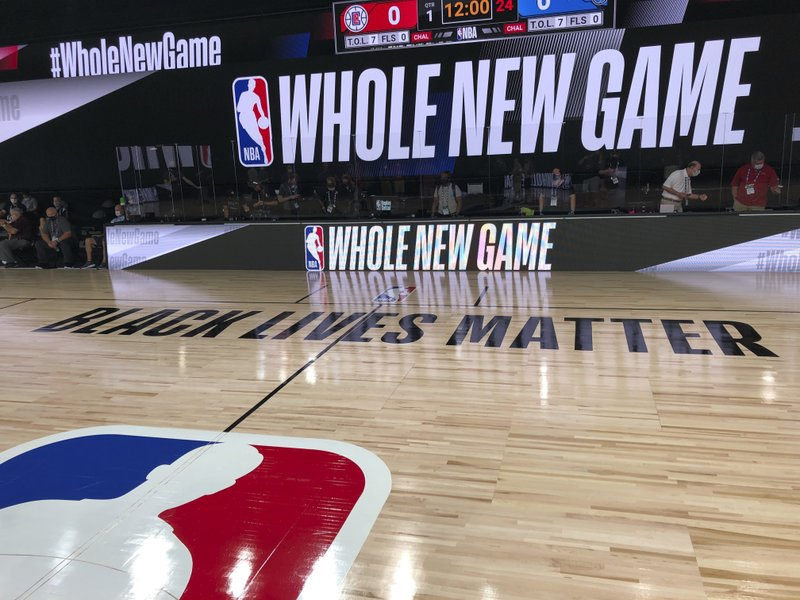 A whole new look, for a whole new NBA game experience
