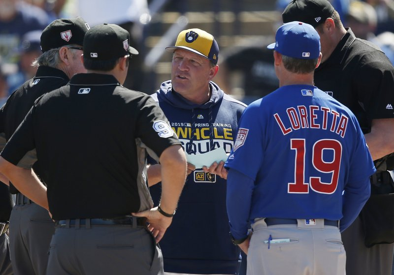 Brewers' Pat Murphy 'resting comfortably' after heart attack