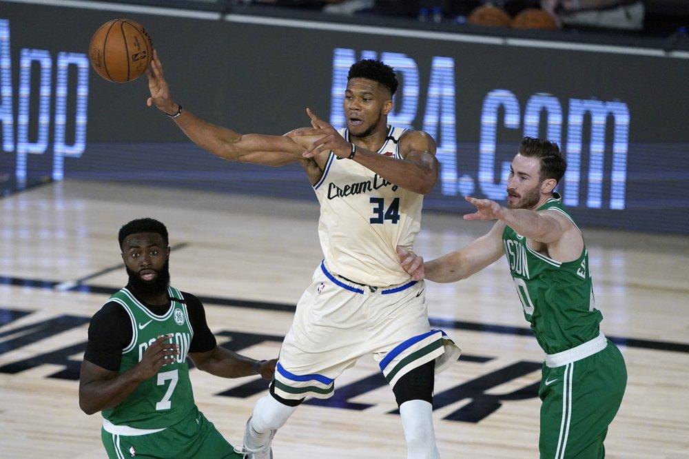 Bucks to open season at Celtics, host Warriors on Christmas