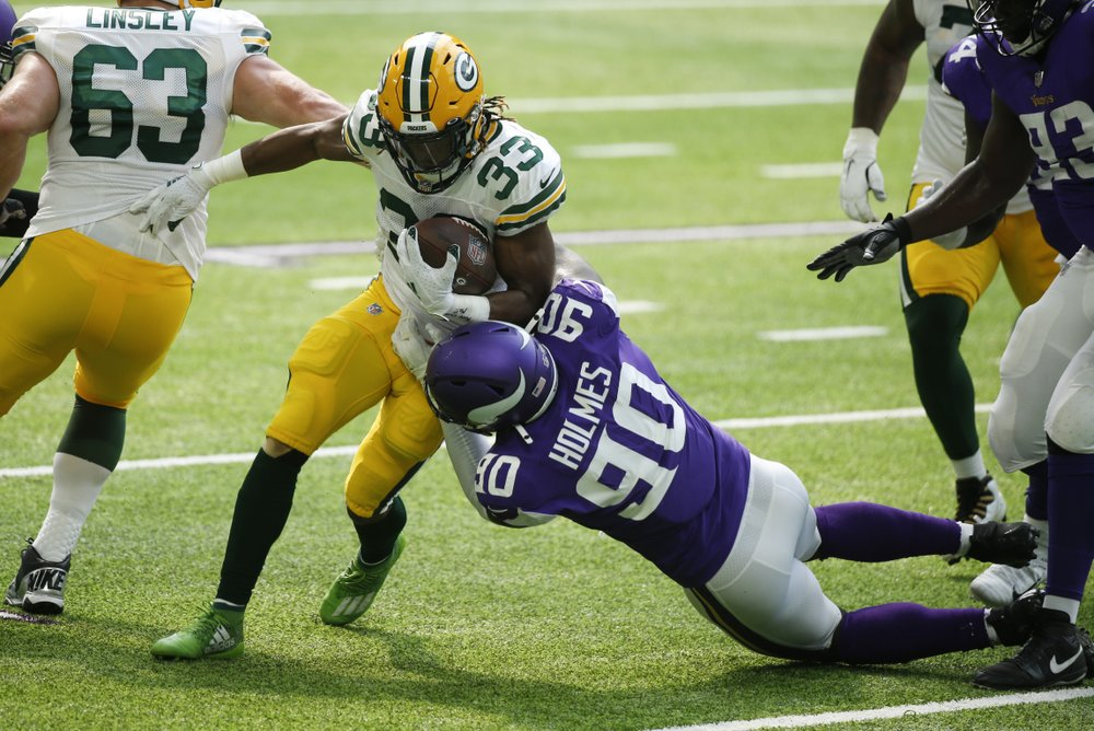 Vikings' slide casts shadow over rematch with Packers