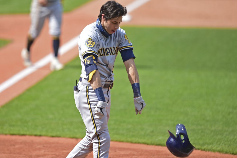 MRI on Brewers star Christian Yelich shows no major issues