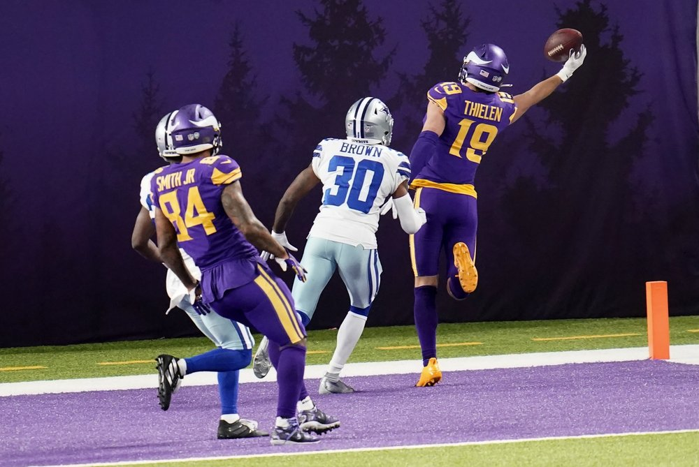 Early mistakes by uneven Vikings too costly to overcome