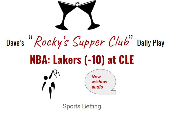 NBA bounce-back play?