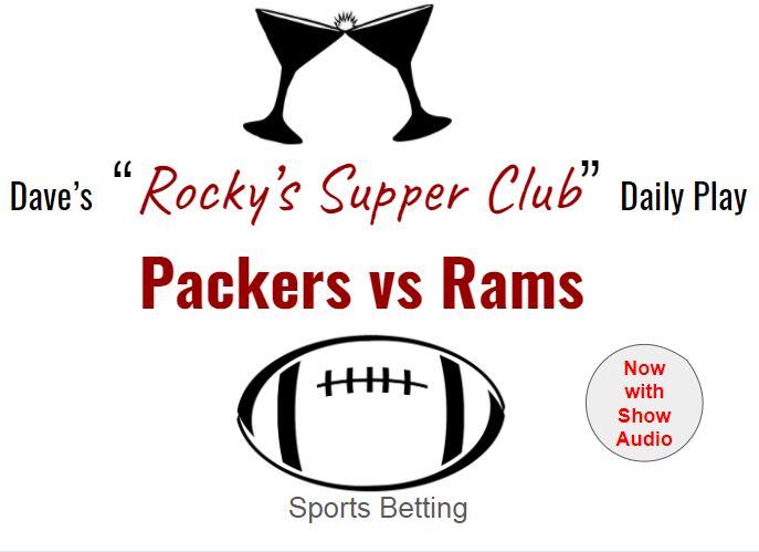 Packers look like smart money vs the Rams