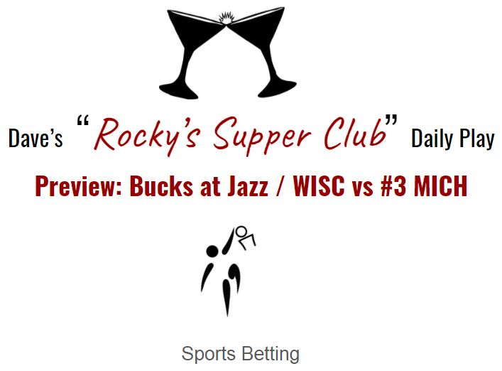 Bucks and Badgers betting preview