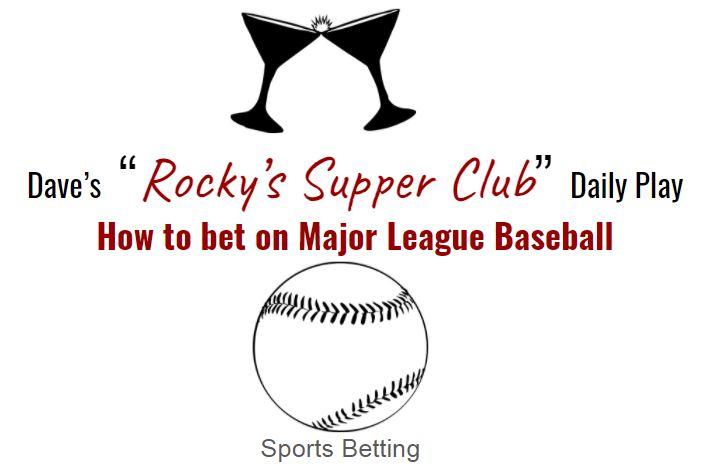 How to bet on Major League Baseball