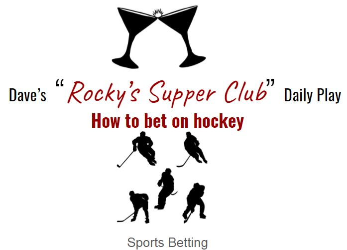 How to bet pro & college hockey