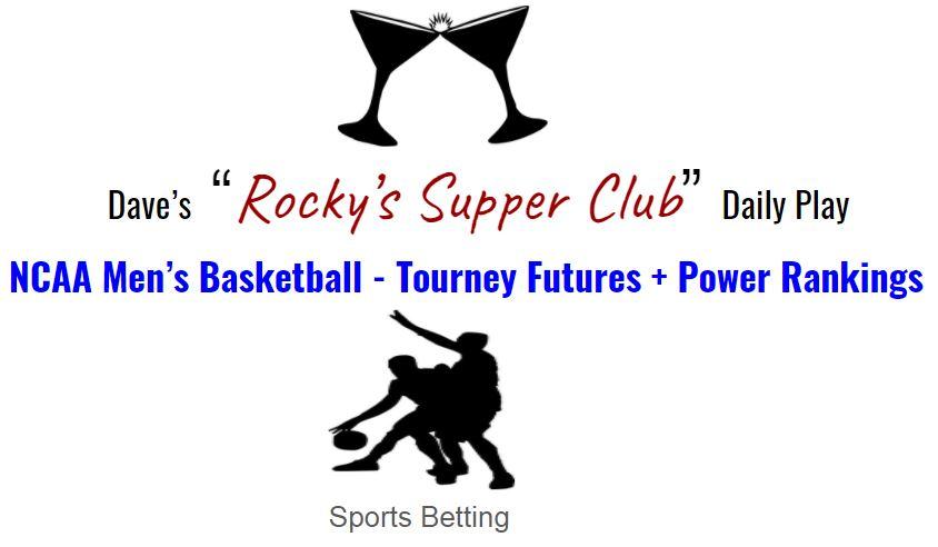 NCAA Tourney futures
