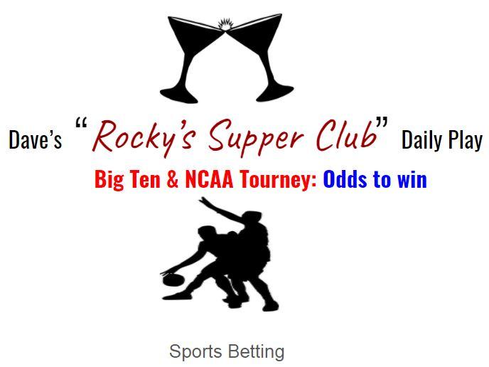Big Ten & NCAA tourney: Odds to win