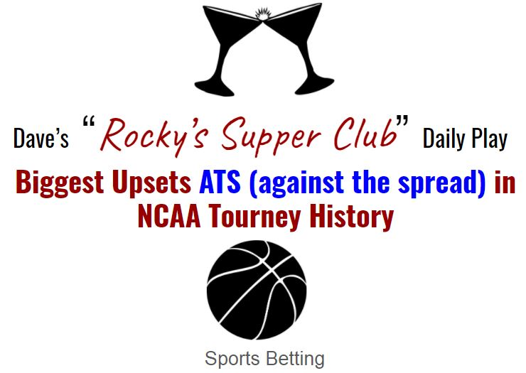Biggest upsets ATS (against the spread) in NCAA Tourney History