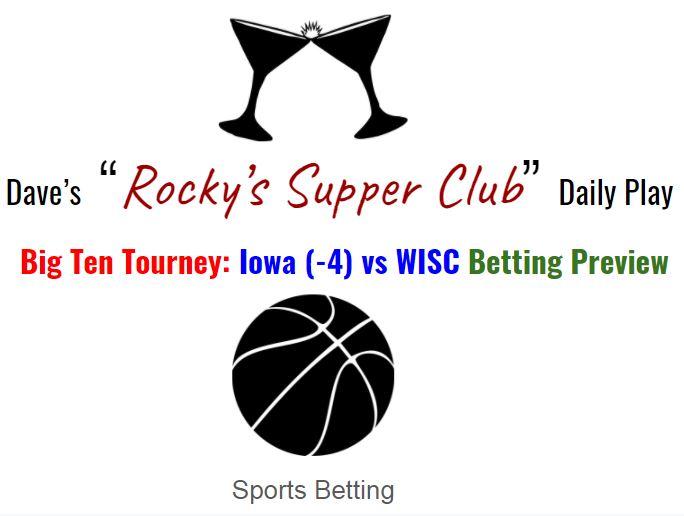 Big Ten Tourney: Iowa vs WISC betting preview