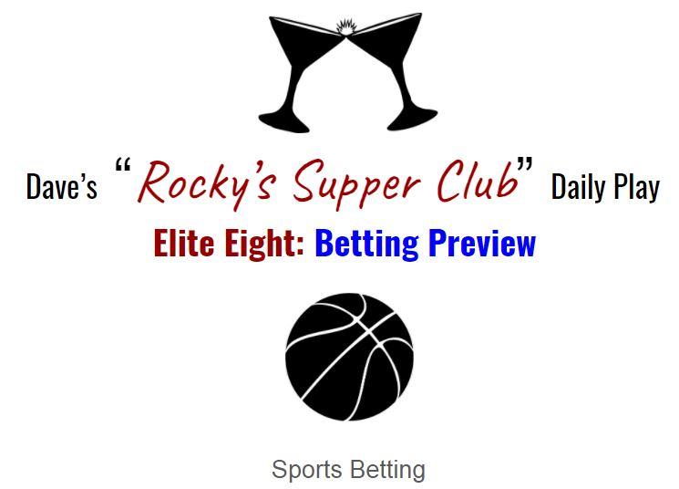 Elite Eight: Betting Preview