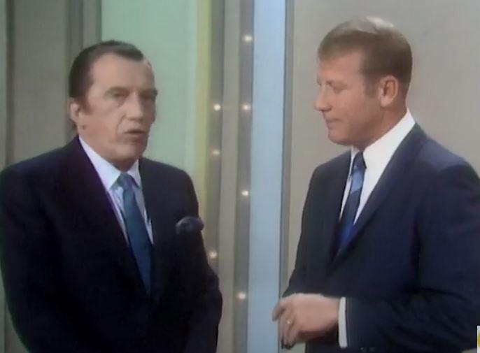 "Mickey Mantle ""retirement"" on The Ed Sullivan Show"