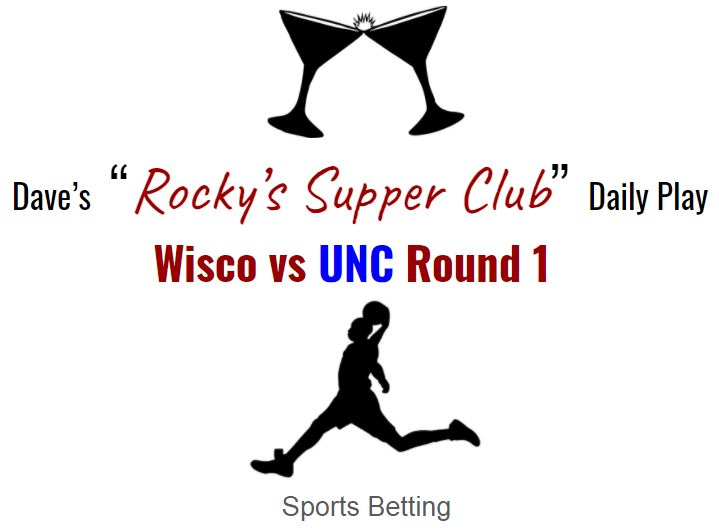 Can the Badgers beat UNC? NCAA Round 1 betting preview