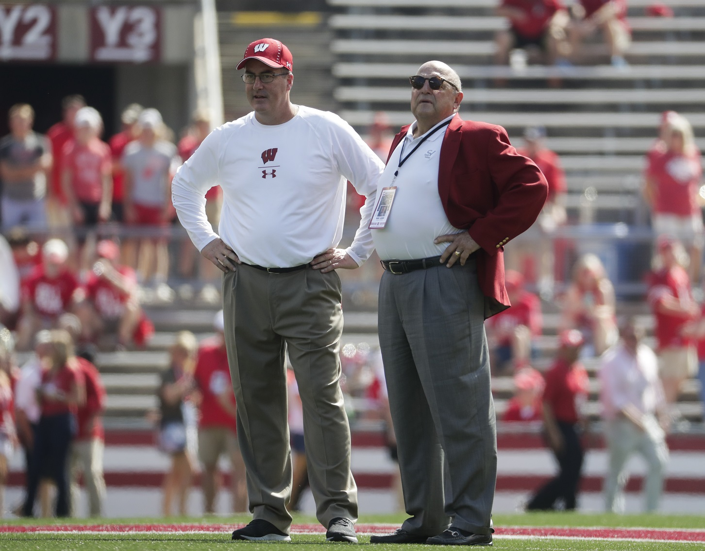 Wisconsin hopes to hire new AD 'within a few months'