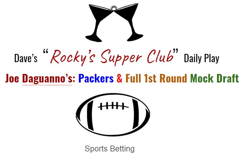 """Joe Daguanno's Mock Drafts (w) special commentary by Peter """"The Smoking Spider"""""""