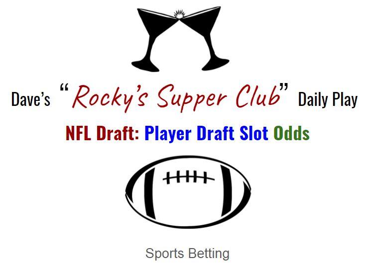 NFL Draft: Draft Slot Odds