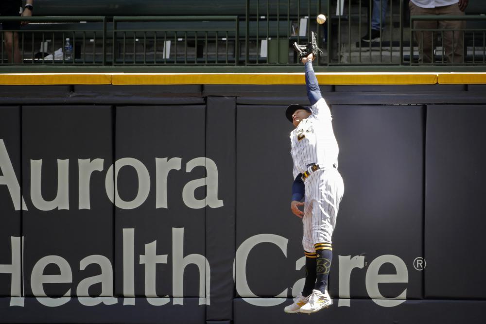 Pollock 8 RBIs, Beaty 7 RBIs, each slam as Dodgers bop Brews