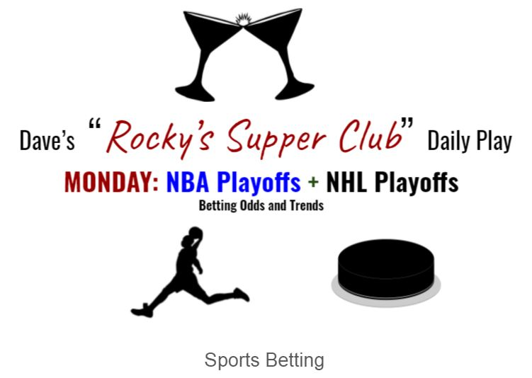 NBA & NHL Monday Playoffs: Odds & Trends