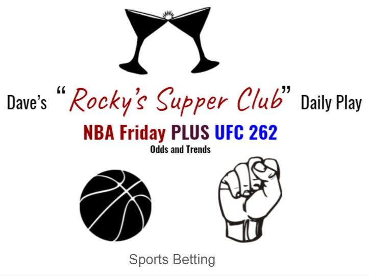 NBA Friday & UFC 262