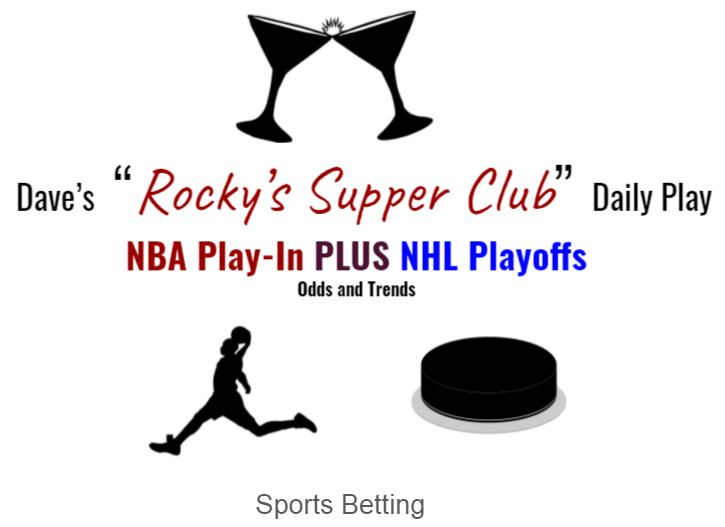NBA Play-In Tuesday & NHL Playoffs Monday: Betting odds and trends