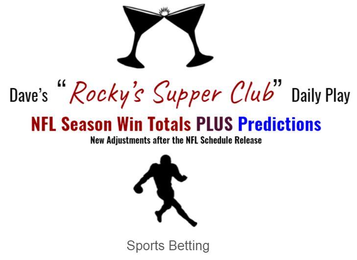 NFL Win Totals & Predictions (post schedule release)