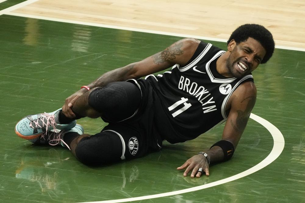 Oh, passing — and Nets losing Kyrie Irving — help Bucks tie series 2-2