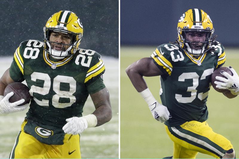 Jones, Dillon believe they can give Packers potent RB tandem